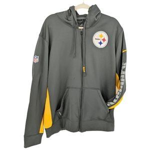 Nike NFL Pittsburg Steelers Hoodie Therma Fit L